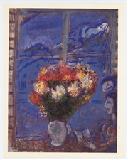 "Marc Chagall ""Woman at a Window"" 1968"
