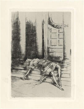 Louis Icart original etching, 1928