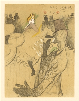 toulouse lautrec lithograph poster la goulue. Black Bedroom Furniture Sets. Home Design Ideas