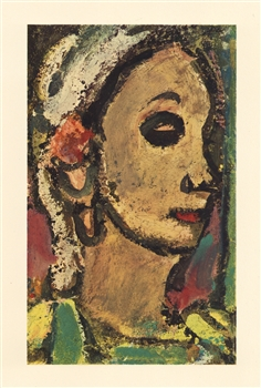 Georges Rouault pochoir Visages