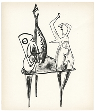 David Hare original lithograph