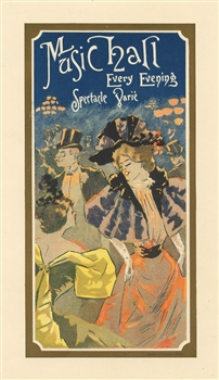 French lithograph poster