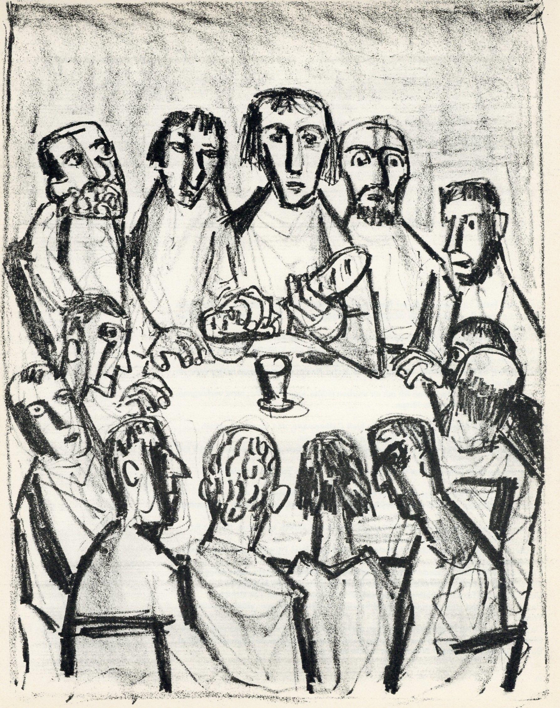 Image result for otto dix last supper