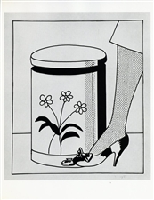 Roy Lichtenstein lithograph