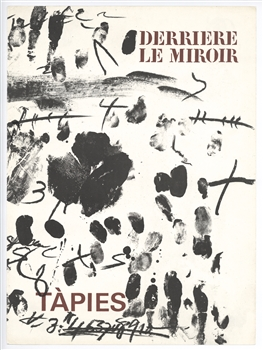 Antoni Tapies original lithograph, 1968