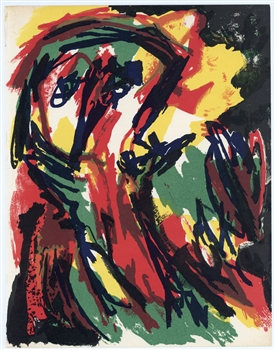 Karel Appel original lithograph, 1961