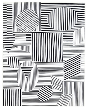 Victor Vasarely screenprint 1969