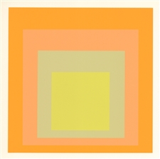 Josef Albers silkscreen | Homage to the Square