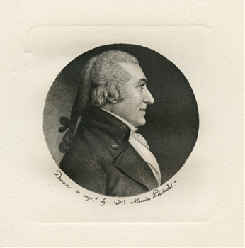 Charles Saint-Memin engraving William Edward 1802