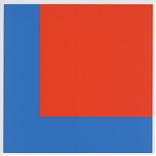 Ellsworth Kelly silkscreen Stedelijk Museum 1966