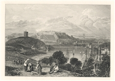 J. M. W. Turner engraving Plymouth