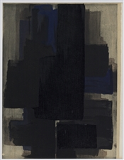 Pierre Soulages pochoir, 1956