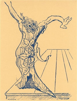 "Max Ernst lithograph ""Elektra"" 1959 edition"