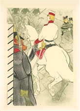 Toulouse-Lautrec lithograph poster Babylone d'Allemagne