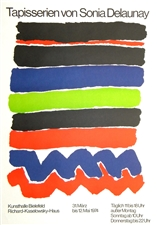 Sonia Delaunay lithograph poster