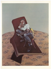 Francis Bacon lithograph Lucian Freud