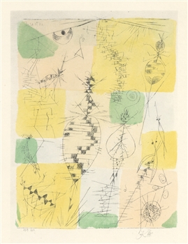 Paul Klee pochoir Insects