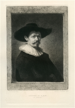 Rembrandt van Rijn (after) Man - Le Doreur