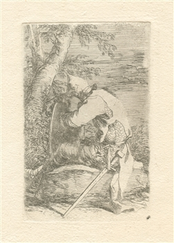 Salvator Rosa etching