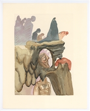Salvador Dali Divine Comedy The Corrupt