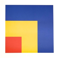 Ellsworth Kelly lithograph Red, Yellow, Blue