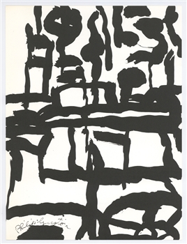 Philip Guston lithograph