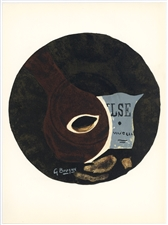 Georges Braque lithograph Valse