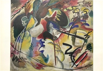 Wassily Kandinsky lithograph Tableau avec formes blanches