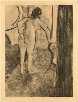 Edgar Degas monotype