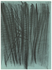 Hans Hartung original lithograph, 1964