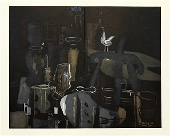 Georges Braque lithograph Atelier