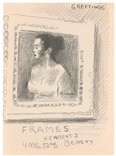 Raphael Soyer lithograph Improvisations