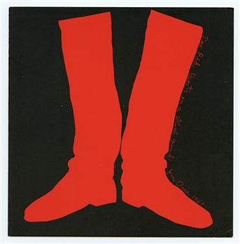 Jim Dine Two Red Boots