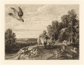 William Unger Frans Snyders etching