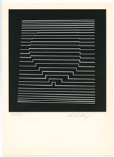 Victor Vasarely signed original serigraph Naissances