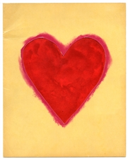 Jim Dine Heart