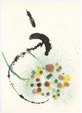 Joan Miro original lithograph (Composition III), 1963