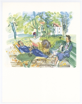 Raoul Dufy Vacances Forcees