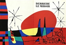 Joan Miro original lithograph, 1956