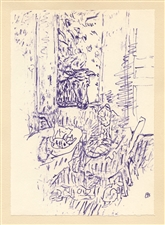 Pierre Bonnard lithograph