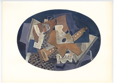 Georges Braque pochoir