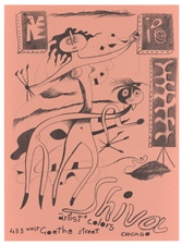 Julio de Diego lithograph Improvisations