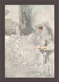 James Whistler lithograph The Convalsecent