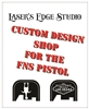 Engraved FN FNS Back Plate Custom Graphics