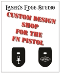 FNH and FNS Engraved Magazine Plate - Custom