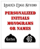 Laser engraved sure plugs for Glock Pistols - Names, Monograms, Initials, Custom Sayings.