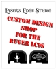 Engraved Ruger LC9s Back Plate Custom Graphics