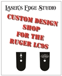 Ruger LC9s Engraved Magazine Plate - Custom