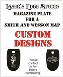 Smith and Wesson Engraved Magazine Plate - Custom