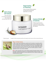 WONDER SNAIL CREAM  -Made in KOREA